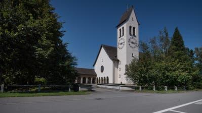 Aussenansicht der Kirche St. Joseph in Perlen. (Bild:Pius Amrein/22. August 2017)