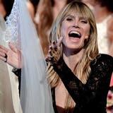 Topmodel Heidi Klum ist Chefin der Show «Germany's Next Topmodel». (Bild: Keystone)