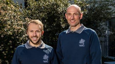 Andreas Grüter (links) und Beat Schorno vom Organisationskomitee des Stadtlaufs Luzern (Bild: Philipp Schmidli)