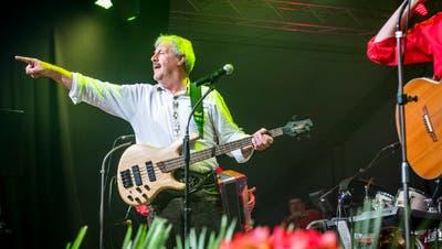 Sepp Silberberger und seine Band nehmen Abschied. (Bild: Andrea Stalder)