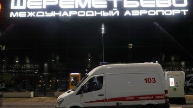 Aeroflot-Maschine in Flammen - 41 Tote bei Notlandung in Moskau