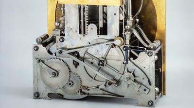 Eines von Jost Bürgis Uhrwerken. (Bild: Sascha Erni)