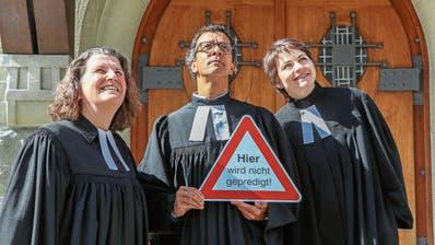 Ein Monat ohne Sonntagspredigt: St.Galler Kirchgemeinde wagt das Experiment