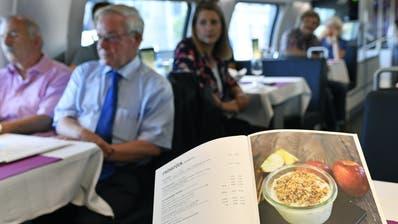 Ein veganes Menüim Speisenwagen? Die SBB tun sich schwer damit. In der neuen Karte gibts immerhin vegetarische Gerichte. (Bild: KEY)