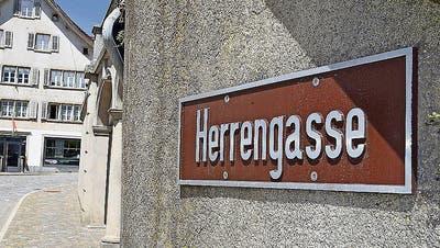 Am 14. Mai soll die Herrengasse in Schwyz umbenannt werden.