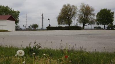 Wie und ob das Areal des ehemaligen Gaswerkes genutzt werden kann, ist noch offen. (Bild: Rahel Jenny Egger)