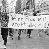 Am ersten Frauenstreik in der Schweiz nahmen Hunderttausende Frauen teil. (Bild: Keystone)