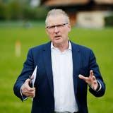 Der Zuger Finanzdirektor Heinz Tännler. (Bild: Stefan Kaiser, 6. Mai 2019)