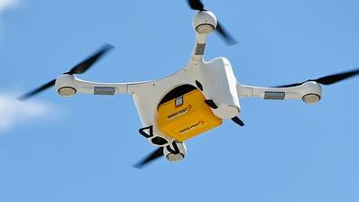 Drohne der Poststürzt in Zürich ab