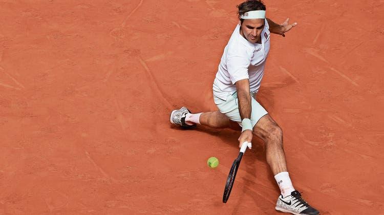 Federer im «Panik-Modus» zum Sieg