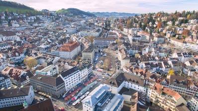 Wohnen in St.Gallen ist günstiger als in anderen grossen Städten der Schweiz. (Urs Bucher)