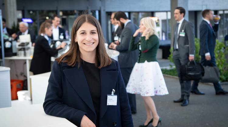 Lia Hollenstein vom OK des St.Gallen Symposiums. Bild: Ralph Ribi