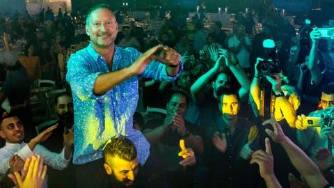 Sodastream-CEO Daniel Birnbaum bei einer Feier zum Ende des Ramadans. (Bild: AP Photo/Tsafrir Abayov, Rahat, 27. Mai 2019)