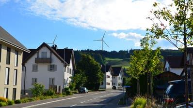 Die Visualisierung zeigt die Sicht auf die Anlagen vom Restaurant Rössli in Beinwil. (Bild: PD)