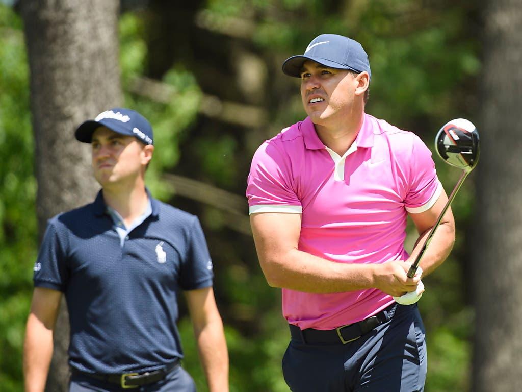 Brooks Koepka - das Muskelpaket unter den weltbesten Golfern (Bild: KEYSTONE/AP The Canadian Press/NATHAN DENETTE)