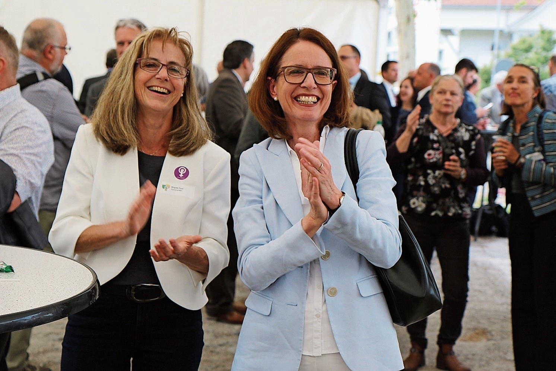 Susanne Vincenz-Stauffacher (FDP), vielen bekannt als Ständeratskandidatin.