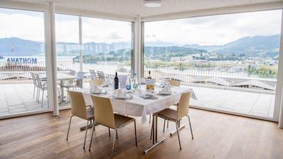 Das neue Haus Pilatus bietet freie Sicht auf den Luzerner Hausberg