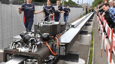 Swissloop tritt mit «Claude Nicollier» am Hyperloop-Wettbewerb an