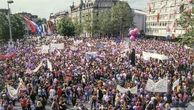 Rückblick auf den Frauenstreik 1991