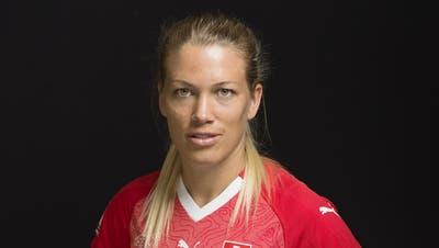 Lara Dickenmann ist achtfache Schweizer Fussballerin des Jahres. (Bild: Gaëtan Bally/KEY)