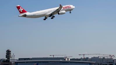 Swiss befördert im Mai mehr Passagiere und führt mehr Flüge durch