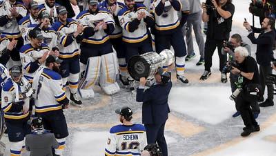 Erster Stanley Cup für St. Louis Blues