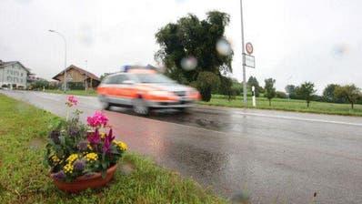 Eingangs Hohenrain passierte es: ein Mann erlitt nach einem Streit tödliche Verletzungen. (Bild: Roger Zbinden)