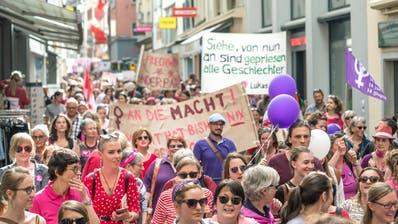 (Bild: Pius Amrein, Luzern, 14. Juni 2019)