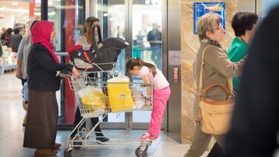«Vom Staat subventioniert»: Einkaufen im Ausland. (Bild: Benjamin Manser)