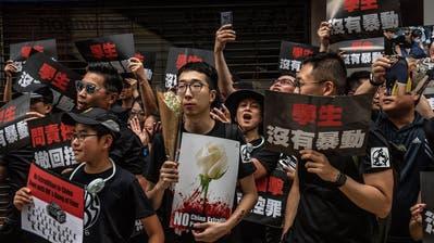 Hongkong: Zorn der Strasse flaut nicht ab