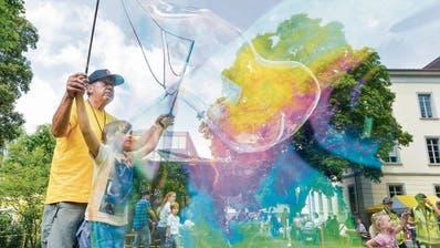 Das Mitsommerfest in Frauenfeld: Ganz viel Zauber und ein Wolkenbruch