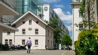 Der Sitz von General Electric in Baden. (Bild: Sandra Ardizzone, 17. Juni 2019)