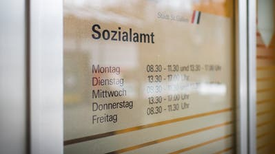 In der Stadt St.Gallen sind mit 4,6 Prozent am meisten Sozialbezüger gemeldet. (Bild: Benjamin Manser)