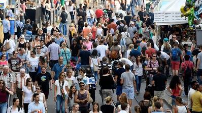 Über zwei Millionen Menschen werden am Züri Fäscht erwartet