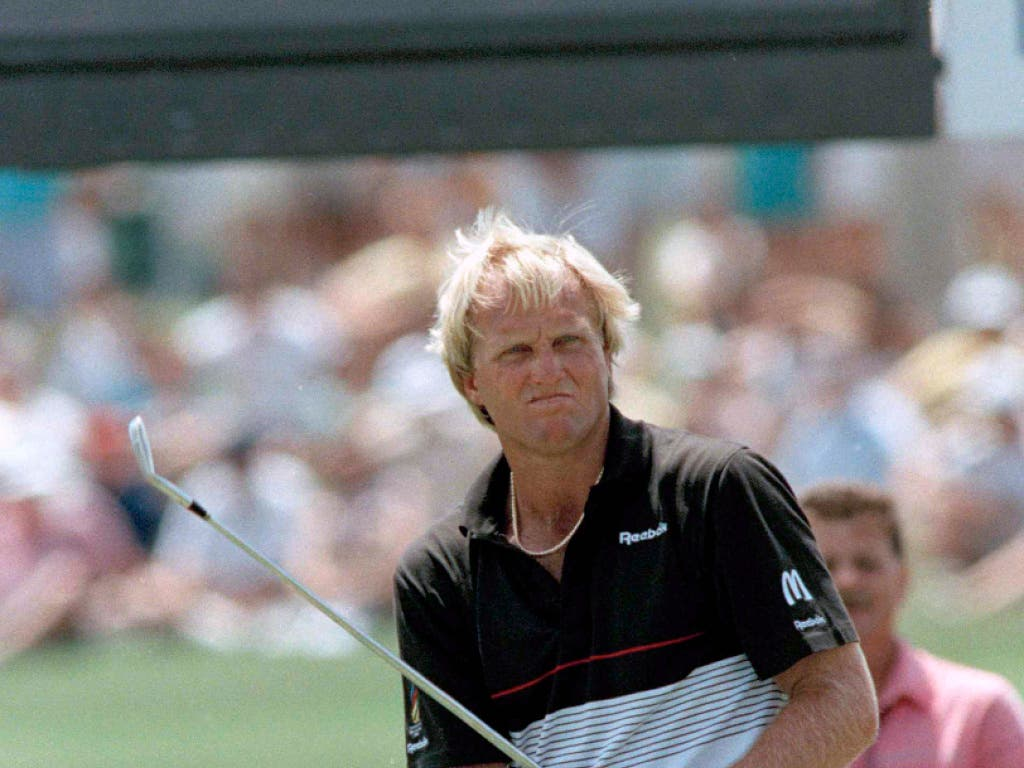 Greg Norman - der weltbeste Golfer, der nur zwei Majorturniere gewann (Bild: KEYSTONE/AP/BILL HABER)