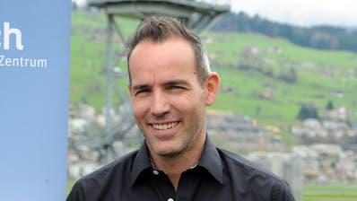 Björn Britschgi, OK-Präsident der Iheimisch. Bild: Oliver Mattmann, Buochs, 5. April 2018)