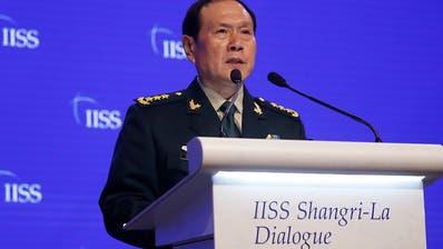Chinas Verteidigungsminister rechtfertigt Tiananmen-Massaker