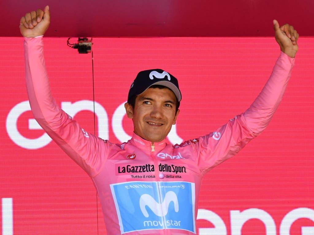 Richard Carapaz - der erste Giro-Gesamtsieger aus Ecuador (Bild: KEYSTONE/EPA ANSA/ALESSANDRO DI MEO)