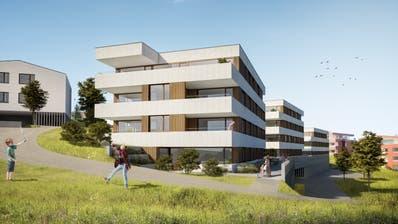 So sollen die Mehrfamilienhäuser in Neuenkirch aussehen. (Visualisierung PD)
