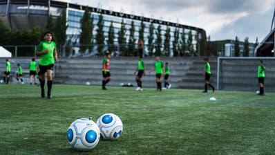 Training der U14 des Nachwuchsprojekts FCO im Gründenmoos.(Bild: Michel Canonica)