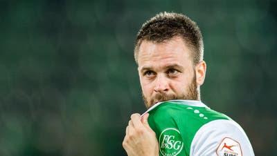Kein Blick in eine gemeinsame Zukunft: Andreas Wittwer absolvierte 103 Pflichtspiele für den FC St.Gallen. (Bild: Benjamin Manser)