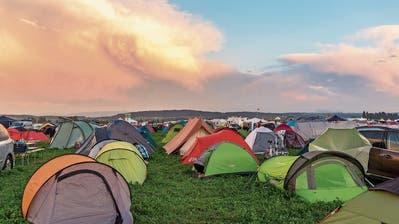 Wie am letzten Esaf wird auch in Zug der Campingplatz voll sein. (Bild: Andreas Busslinger/Esaf, Estavayer, 27. August 2016)