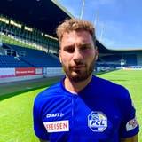 Der Turiner Francesco Margiotta im neuen Dress des FC Luzern. (Bild: FCL/Luzern, 25. Juni 2019)