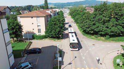 Die geplante Sanierung der Grüntalstrasse ist ein Paket aus verschiedenen Massnahmen. (Bild: Ralph Ribi (25.6.2019)