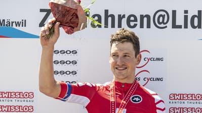 Stefan Küng im Interview nach seinem dritten Schweizer Meistertitel im Zeitfahren