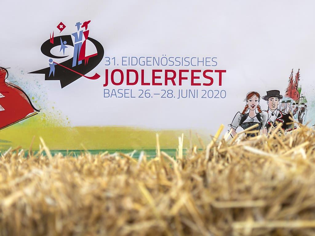 Am 31. Eidgenössischen Jodlerfest in Basel werden Zehntausende Besucher erwartet. (Bild: KEYSTONE/GEORGIOS KEFALAS)