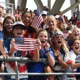 Fussball wird in den USA vor allem von Frauen praktiziert. (Bild: Philippe Perusseau/Keystone, Reims, 24. Juni 2019)