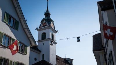 Das Zentrum der Gemeinde Küssnacht. (Foto: Roger Grütter)