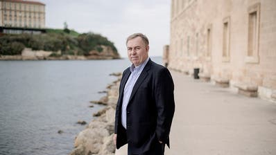Robert Tibbo, the lawyer of Edward Snowden, in Marseille. «My career is over in Hong Kong»,Tibbo says. (Photo: Benjamin Bechet, 23. November 2018)