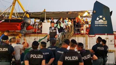 Migranten gerettet und in Italien gelandet: Kapitänin der «Sea Watch 3» drohen 15 Jahre Haft